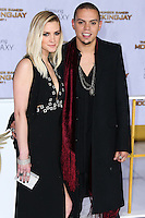 LOS ANGELES, CA, USA - NOVEMBER 17: Ashlee Simpson, Evan Ross arrive at the Los Angeles Premiere Of Lionsgate's 'The Hunger Games: Mockingjay, Part 1' held at Nokia Theatre L.A. Live on November 17, 2014 in Los Angeles, California, United States. (Photo by Xavier Collin/Celebrity Monitor)