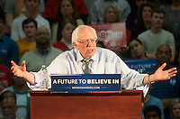 Bernie Sanders campaigning in Milton MA 2.29.16
