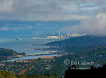 Encroaching Fog, Richardson Bay, Southern Marin County, San Francisco, California