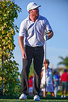 Grayson Murray (USA) watches his tee shot on 13 during round 1 of the Honda Classic, PGA National, Palm Beach Gardens, West Palm Beach, Florida, USA. 2/23/2017.<br /> Picture: Golffile | Ken Murray<br /> <br /> <br /> All photo usage must carry mandatory copyright credit (&copy; Golffile | Ken Murray)