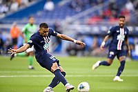 24th July 2020, Stade de France, Paris, France; French football Cup Final, Paris Saint Germain versus  St Ertienne;  07 KYLIAN MBAPPE (PSG) takes a shot on goal