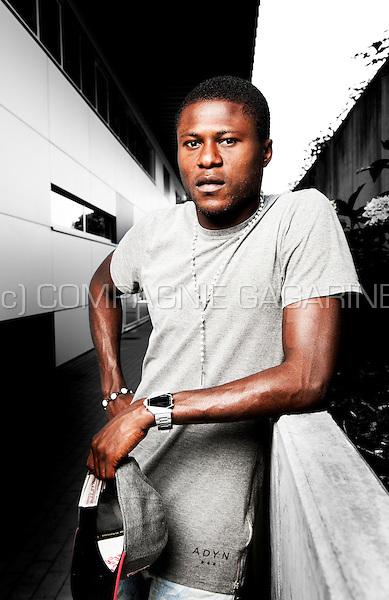 Congolese football player Chancel Mbemba (Belgium, 07/08/2014)