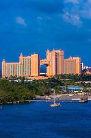 The Atlantis Paradise Island resort, Nassau, The Bahamas