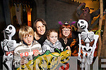 Pictured at the Scary Skeleton Dig and Ghost Trail at Kerry County Museum on Tuesday were l-r: Jack Murphy, Sandra Leahy, Mollie Moriarty and Claudia Kohler