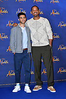 Mena Massoud and Will Smith<br /> at 'Aladdin' film photocall with the cast at the Rosewood Hotel, London, England on May 10, 2019<br /> CAP/JOR<br /> &copy;JOR/Capital Pictures