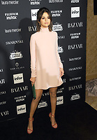 NEW YORK, NY - SEPTEMBER 08: Selena Gomez attends the 2017 Harper's Bazaar Icons at The Plaza Hotel on September 8, 2017 in New York City. <br /> CAP/MPI/JP<br /> &copy;JP/MPI/Capital Pictures