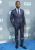 SANTA MONICA, CA - JANUARY 11:  Sterling K. Brown at the 23rd Annual Critics' Choice Movie Awards at Barker Hangar on January 11, 2018 in Santa Monica, California. (Photo by Scott Kirkland/PictureGroup)