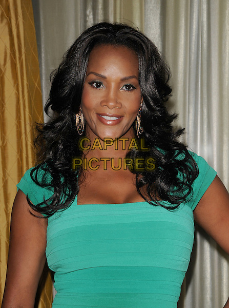VIVICA A. FOX.The Simon Wiesenthal Center's 2009 National Tribute Dinner honoring Will Smith held at The Beverly Wilshire Hotel in Beverly Hills, California, USA. .May 5th, 2009                                                                     half length green dress.CAP/DVS.©Debbie VanStory/Capital Pictures.