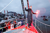 ALEX THOMSON RACING-HUGO BOSS- VENDÉE GLOBE 12-13 ARRIVAL