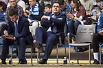 San Pablo Burgos coach Diego Epifanio during Liga Endesa match between San Pablo Burgos and Monbus Obradoiro at Coliseum Burgos in Burgos, Spain. April 01, 2018. (ALTERPHOTOS/Borja B.Hojas)