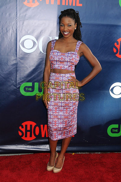17 July 2014 - West Hollywood, California - Shanola Hampton. CBS, CW, Showtime Summer Press Tour 2014 held at The Pacific Design Center. <br /> CAP/ADM/BP<br /> &copy;Byron Purvis/AdMedia/Capital Pictures