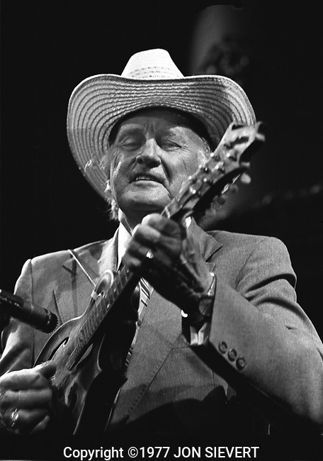 Bill Monroe, 10/3/77, Great American Music Hall, San Francisco
