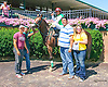Filberto winning at Delaware Park on 8/3/15