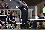19 April 2014: Carolina head coach Colin Clarke (NIR). The Carolina RailHawks played the Fort Lauderdale Strikers at WakeMed Stadium in Cary, North Carolina in a 2014 North American Soccer League Spring Season match. Carolina won the game 4-1.