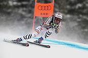 10th February 2019, Are, Sweden; Alpine skiing: Combination, ladies: downhill; Viktoria Rebensburg from Germany on her run