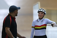 Margaret Speed of Waikato BOP competes in the Masters Women 8 500m Time Trial at the Age Group Track National Championships, Avantidrome, Home of Cycling, Cambridge, New Zealand, Wednesday, March 15, 2017. Mandatory Credit: © Dianne Manson/CyclingNZ  **NO ARCHIVING**