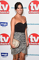 LONDON, UK. September 10, 2018: Fiona Wade at the TV Choice Awards 2018 at the Dorchester Hotel, London.<br /> Picture: Steve Vas/Featureflash