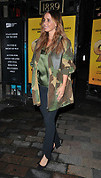 "Louise Redknapp at the ""9 To 5 The Musical"" theatre cast stage door departures, Savoy Theatre, The Strand, London, England, UK, on Friday 07th June 2019.<br /> CAP/CAN<br /> ©CAN/Capital Pictures"