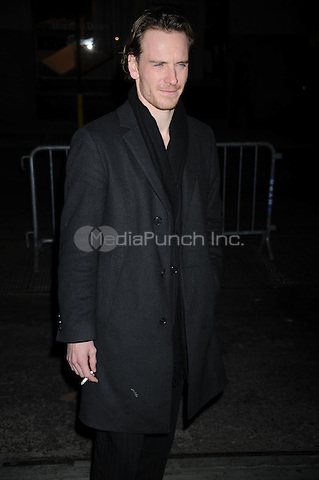 Michael Fassbender at the New York Film Critic's Circle Awards at Crimson in New York City. January 11, 2010.. Credit: Dennis Van Tine/MediaPunch