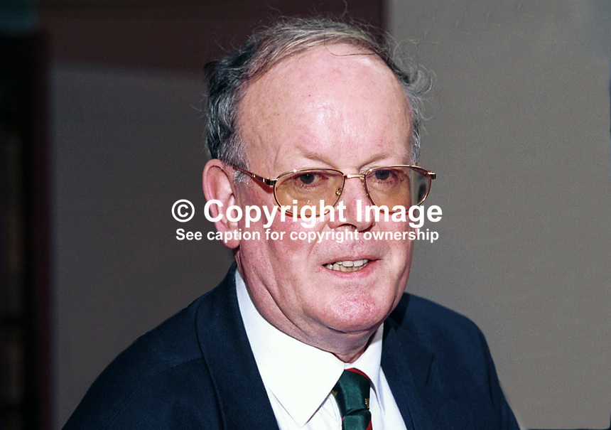 Sir Sydney Chapman, Conservative MP, Britain, UK. Taken at Conservative Party Conference, Blackpool. Ref: 199910240.<br />