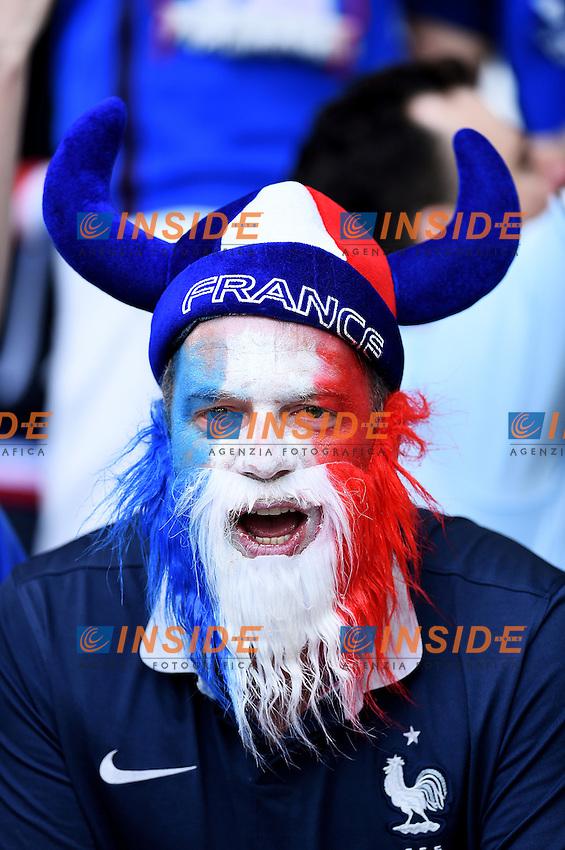 Tifoso Francia Supporters France<br /> Marseille 15-06-2016 Stade du Velodrome <br /> Football Euro2016 France - Albania / Francia - Albania Group Stage Group A<br /> Foto Massimo Insabato / Insidefoto