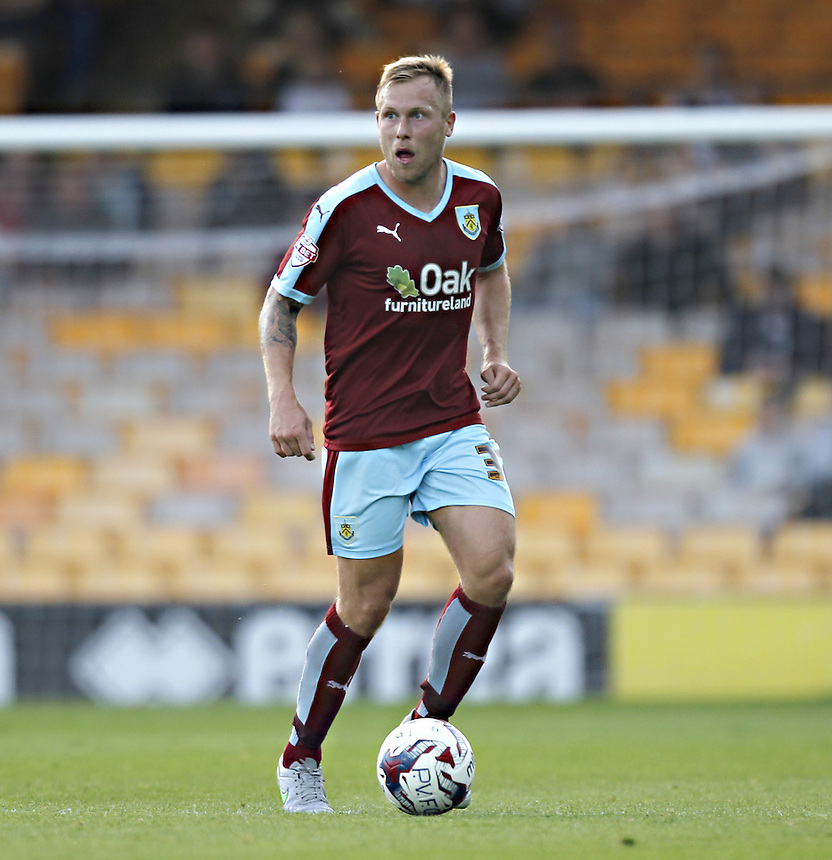 Burnley's Scott Arfield<br />