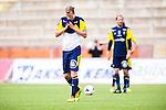 S&ouml;dert&auml;lje 2014-05-31 Fotboll Superettan Syrianska FC - &Auml;ngelholms FF :  <br /> &Auml;ngelholms Sebastian Carls&eacute;n Carlsen  deppar<br /> (Foto: Kenta J&ouml;nsson) Nyckelord:  Syrianska SFC S&ouml;dert&auml;lje Fotbollsarena &Auml;ngelholm &Auml;FF depp besviken besvikelse sorg ledsen deppig nedst&auml;md uppgiven sad disappointment disappointed dejected