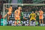 13.01.2018, Weserstadion, Bremen, GER, 1.FBL, SV Werder Bremen vs TSG 1899 Hoffenheim<br /> <br /> im Bild<br /> Benjamin H&uuml;bner / Huebner (1899 Hoffenheim #21) trifft zum 0:1 gegen Jiri Pavlenka (Werder Bremen #1), <br /> <br /> Foto &copy; nordphoto / Ewert