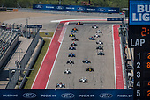 F4 US Championship<br /> Rounds 16-17-18<br /> Circuit of The Americas, Austin, TX USA<br /> Friday 15 September 2017<br /> 45, Baltazar Leguizamon, 62, Raphael Forcier<br /> World Copyright: Keith Daniel Rizzo<br /> LAT Images