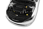 Car Stock 2015 Chrysler 200 S 4 Door Sedan 2WD Engine high angle detail view