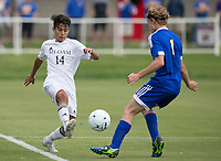 NWA Democrat-Gazette/JASON IVESTER<br /> 6A BOYS SOCCER: Siloam Springs vs Mountain Home on Friday, May 19, 2017, at Razorback Field in Fayetteville