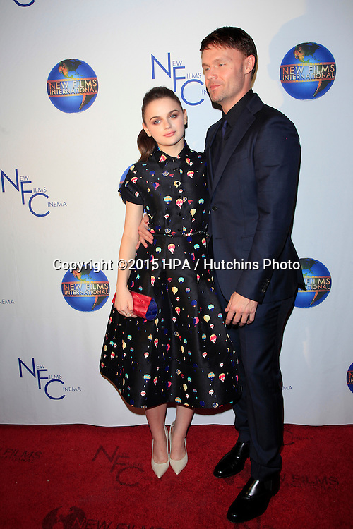 """LOS ANGELES - OCT 24:  Joey King, Scott Haze at the """"The Sound And The Fury"""" Premiere at the Fine Arts Theater on October 24, 2015 in Beverly Hills, CA"""