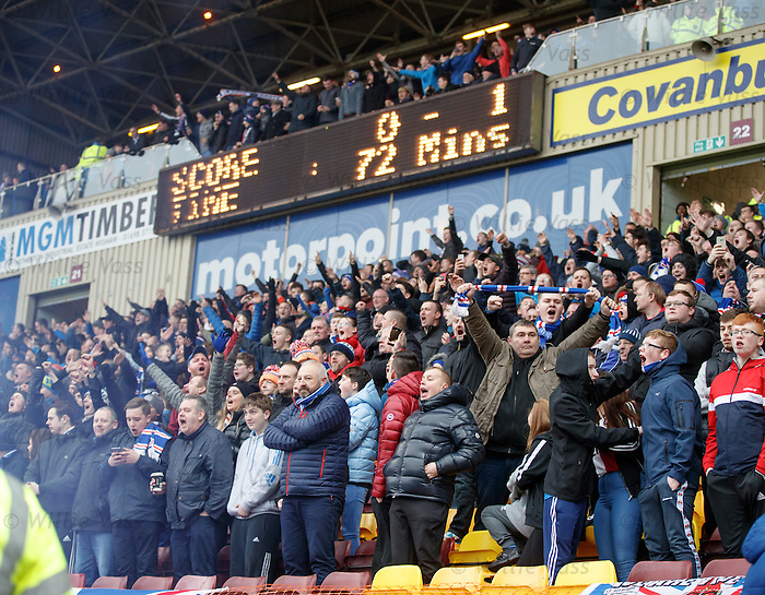 Ranmgers fans celebrate