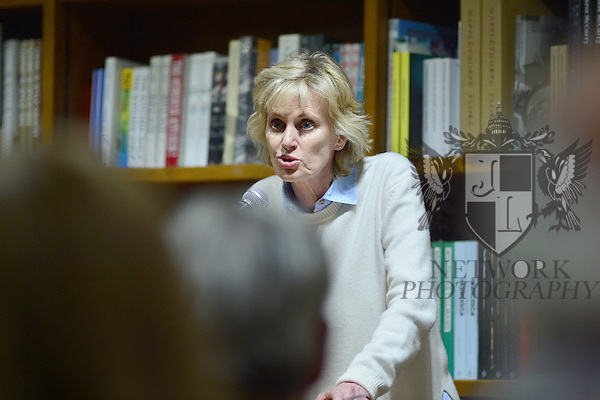 CORAL GABLES, FL - FEBRUARY 20: Author Siri Hustvedt discussing and sign copies of her new book 'A Woman Looking at Men Looking at Women: Essays on Art, Sex, and the Mind' at Books and Books on February 20, 2017 in Coral Gables, Florida. ( Photo by Johnny Louis / jlnphotography.com )