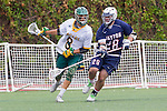 Orange, CA 05/16/15 - Chase Matranga (Concordia #30) and Patrick Ryan (Dayton #28) in action during the 2015 MCLA Division II Championship game between Dayton and Concordia, at Chapman University in Orange, California.