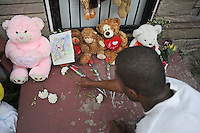 Michael Jackson Death at Gary, Indiana Boyhood Home (USA)