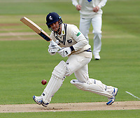 Sean Dickson bats for Kent during the County Championship Division 2 game between Kent and Gloucestershire at the St Lawrence Ground, Canterbury, on April 15, 2018.