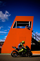 VALENTINO ROSSI - ITALIAN - MONSTER ENERGY YAMAHA MotoGP - YAMAHA<br /> Valencia 15/11/2019 <br /> Moto Gp Spain <br /> Foto Vincent Guignet / Panoramic / Insidefoto