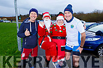 Daniel Massey, Maria Horvagh and Shiela Duggan and Padraig O'Sullivan ready for a run for fun at the Santa Fun run in memory of Fiona Moore, in the Tralee Bay Wetlands on Sunday