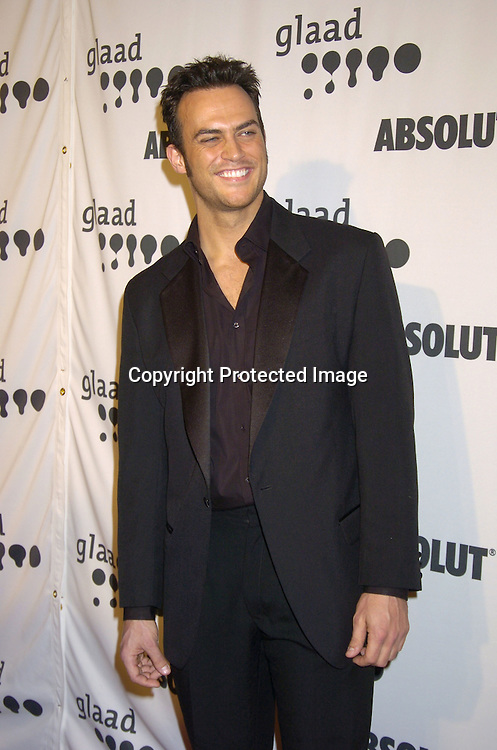 Cheyenne Jackson of All Shock Up on Broadway ..at The 16th Annual Glaad Media Awards on March 28, 2005 at The Marriott Marquis Hotel. ..Photo by Robin Platzer, Twin Images