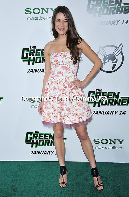 Nathalie Fay   - The Green Hornet Premiere at the Chinese Theatre In Los Angeles.