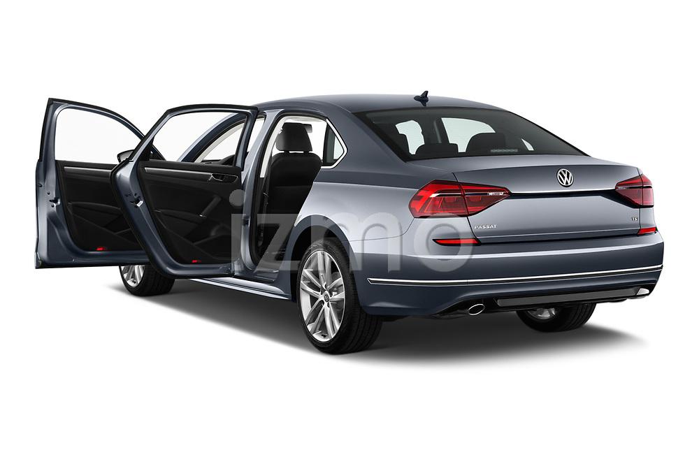 Car images close up view of 2017 Volkswagen Passat R-Line 4 Door Sedan doors