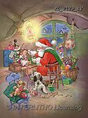 CHRISTMAS SANTA, SNOWMAN, WEIHNACHTSMÄNNER, SCHNEEMÄNNER, PAPÁ NOEL, MUÑECOS DE NIEVE, paintings+++++,KL2179/1V,#X#