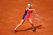 4th June 2017, Roland Garros, Paris, France; French Open tennis championships;   TIMEA BACSINSZKY (SUI)  during day seven match of the 2017 French Open on June 4, 2017, at Stade Roland-Garros in Paris, France.