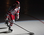 Ryan Cloonan (BU - 8) - The visiting Merrimack College Warriors defeated the Boston University Terriers 4-1 to complete a regular season sweep on Friday, January 27, 2017, at Agganis Arena in Boston, Massachusetts.The visiting Merrimack College Warriors defeated the Boston University Terriers 4-1 to complete a regular season sweep on Friday, January 27, 2017, at Agganis Arena in Boston, Massachusetts.