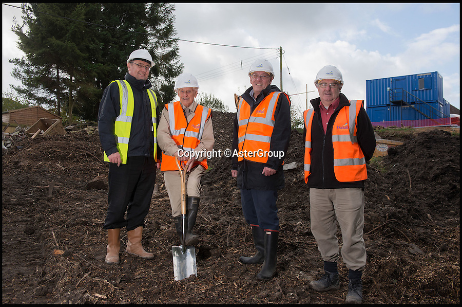 BNPS.co.uk (01202 558833)<br /> Pic: AsterGroup/BNPS<br /> <br /> Residents in one of the worst areas of Britain for affordable housing have built five new homes for local families thanks to the generosity of a selfless woman who feared for the decline of her village.<br /> <br /> The redoubtable Vanora Hereward bought an area of green land in the hope of using it to revitalise Toller Porcorum in West Dorset  after the Post Office, shop and pub closed due to a lack of custom.<br /> <br /> The late solicitor donated the plot to the parish council and help set up a trust to launch a bid to develop the houses on it.