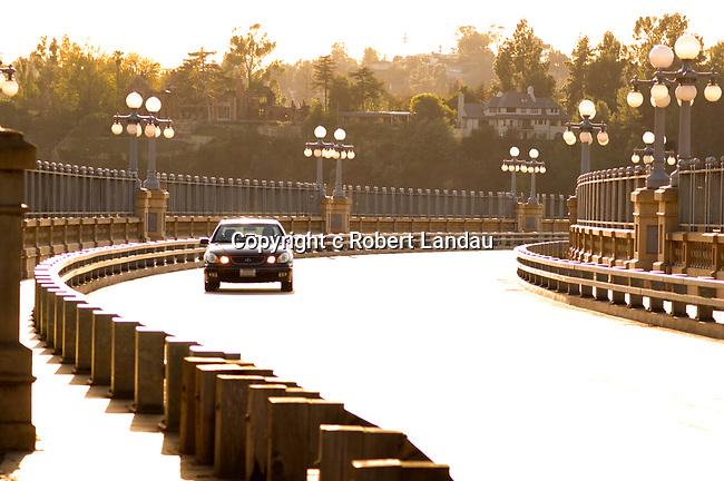 Historic bridge in Pasadena, CA