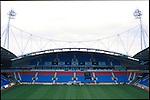 Reebok Stadium, home of Bolton Wanderers FC. Renamed the Macron Stadium in 2014. Photo by Tony Davis