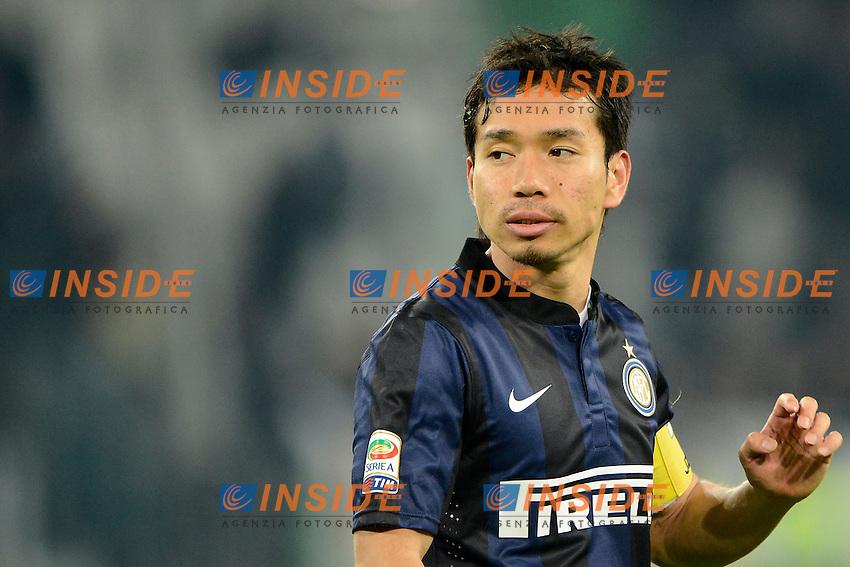 Yuto Nagatomo Inter<br /> Torino 02-02-2014 Juventus Stadium - Football 2013/2014 Serie A. Juventus - Inter Foto Giuseppe Celeste / Insidefoto