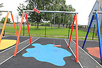 Dunleer playground Damage